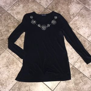Cable & Gauge Long Sleeve Top size xl